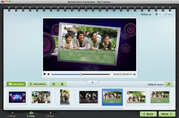 Mac Fantashow Add photos, videos