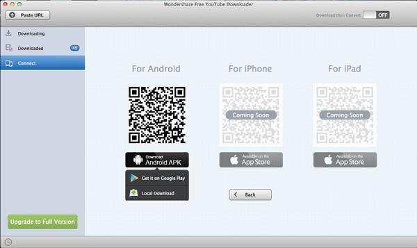 Wondershare Free YouTube Downloader for Mac User Guide