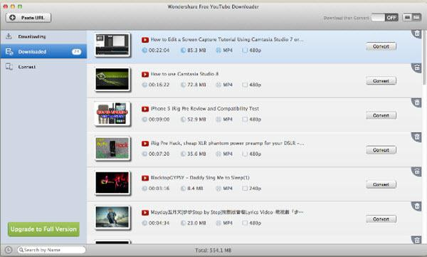 wondershare free youtube downloader for mac