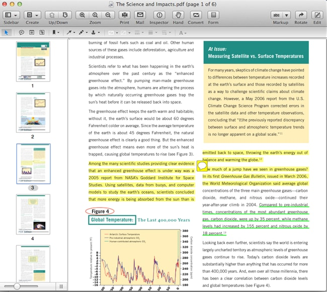 markup and annotate PDF