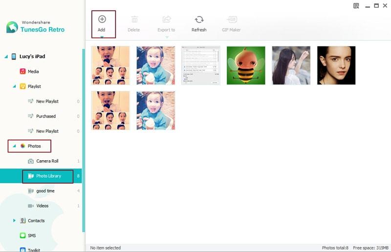 transfer files to an ipad