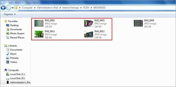 ios transfer - how to delete photos from ipad