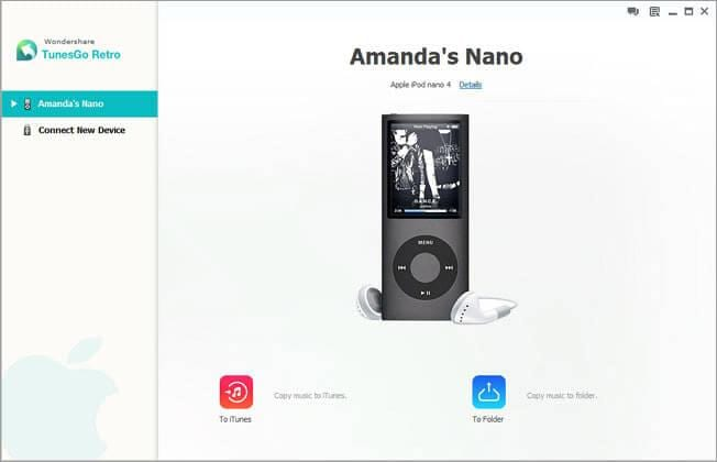 transfer songs from ipod nano to itunes