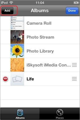 transfer photos from camera roll