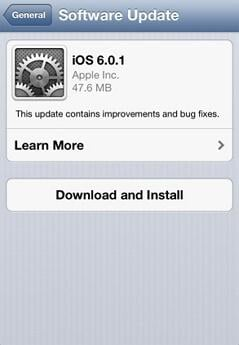 Uppdatera iphone 4 till ios 7