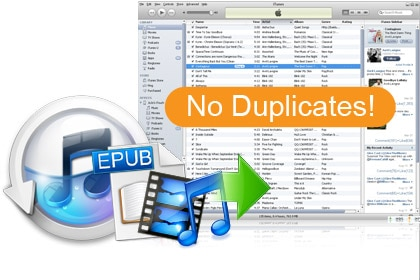 Doesn't duplicate files or Auto-sync with iTunes