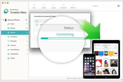 Convert and Transfer Songs & Videos on Mac to Play on Your iPhone/iPod touch/iPad