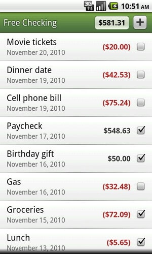 expense manager android