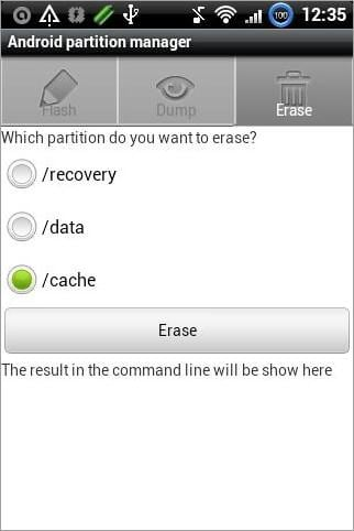 android partition manager