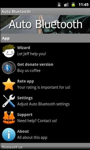 how to manage bluetooth