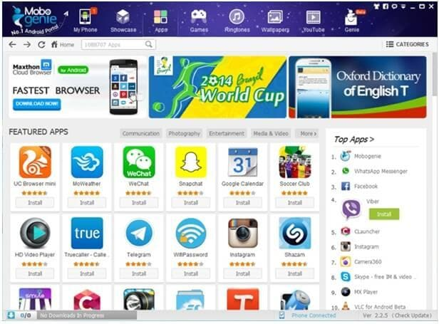 software to  android apps from pc to mobile