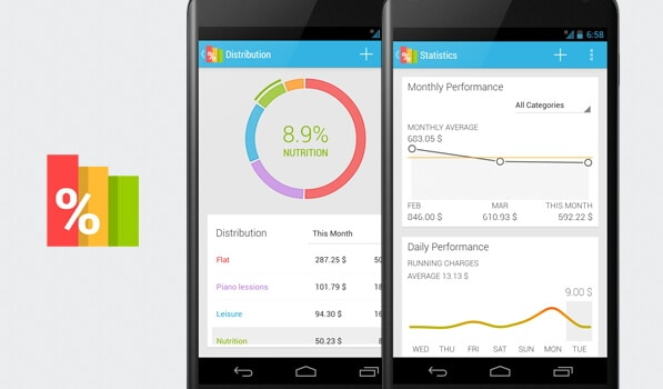 Expense manager per Android