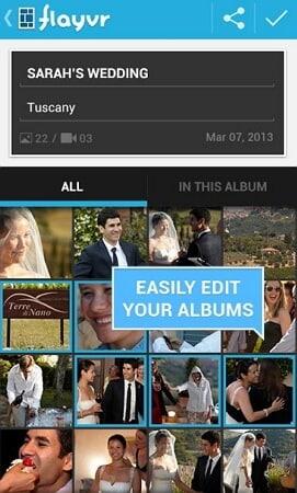 Aplicacion de administracion de fotos Android