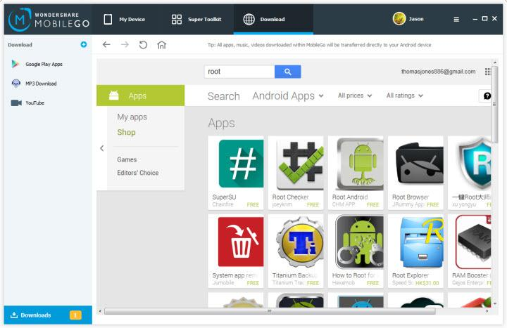 android root file manager