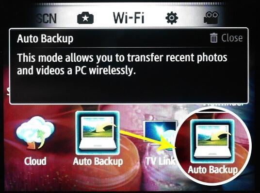 Backup samsung apps