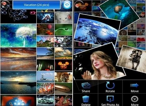 Mejor aplicacion de administracion de fotos Android