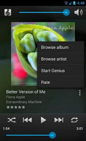 android itunes remote