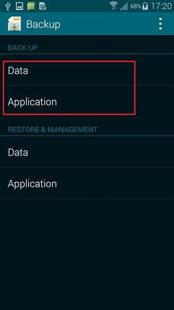 steps to backup samsung galaxy s7