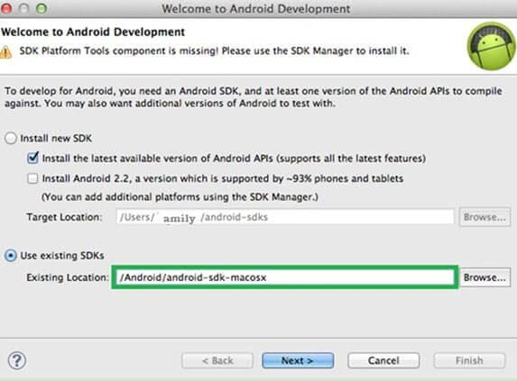 android adb mac