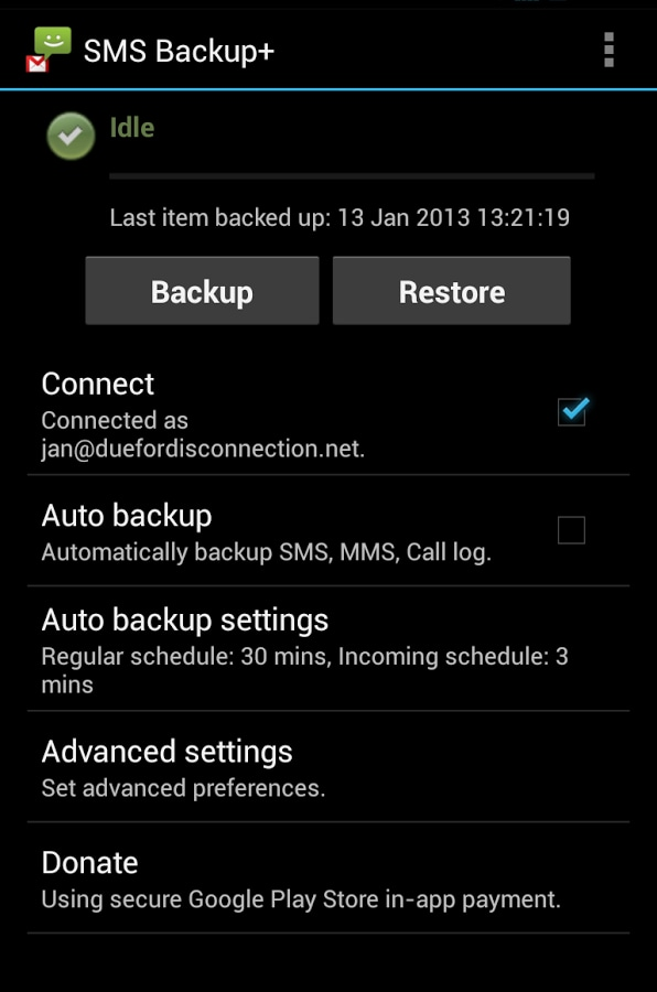 samsung galaxy s3 backup contacts
