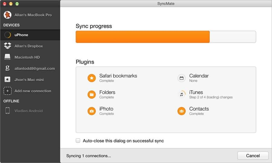 Image result for SyncMate, an app to manage Android SMS on Mac