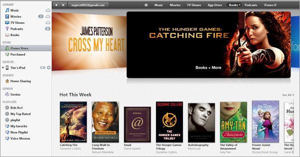 backup eBooks to iTunes