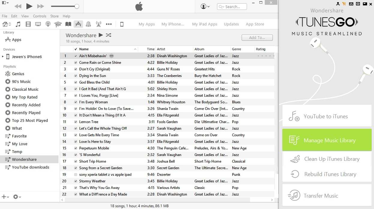 transfer songs to ios 9