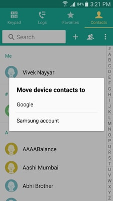 sync contacts from samsung to pc via gmail