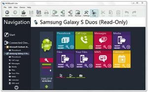 sumsung device manager MobiLedit