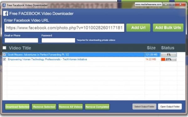 download facebook video quality