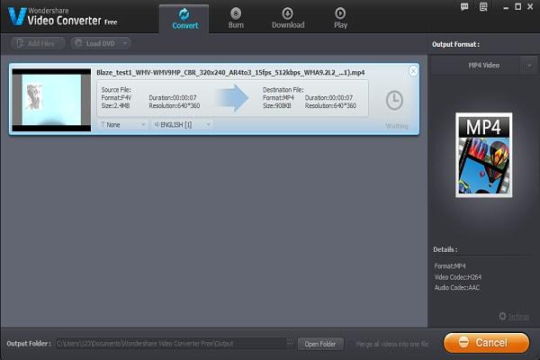 Wie Sie F4V in MP4 kostenlos konvertieren