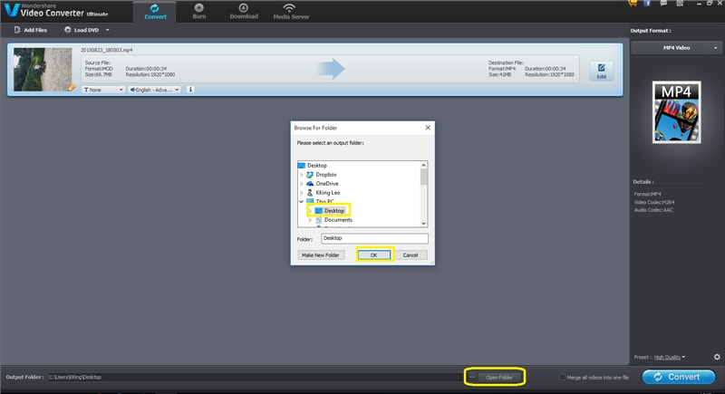 How to Convert MOD to MP4 with High Quality