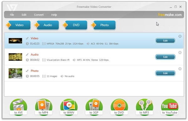 20 Free YouTube to MP4 Converters - Freemake Video Converter