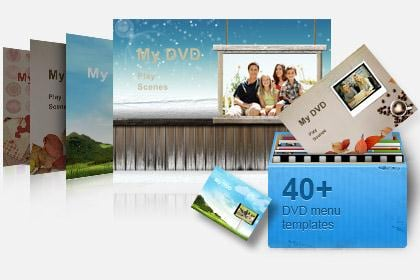 dvd menu templates