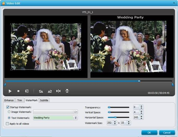 wedding video dvd