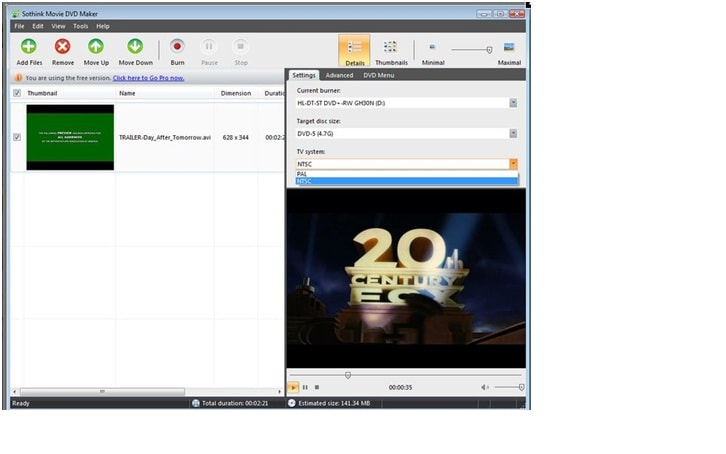 vcd movie maker software free