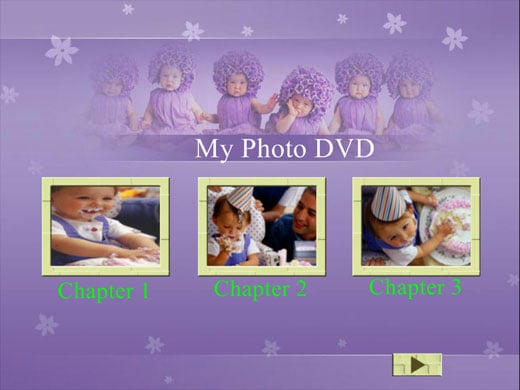 Free dvd menu templates make a professional dvd menu for Encore dvd menu templates free download
