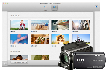 Direct Plug-in for Your Camcorders and AVCHD Files
