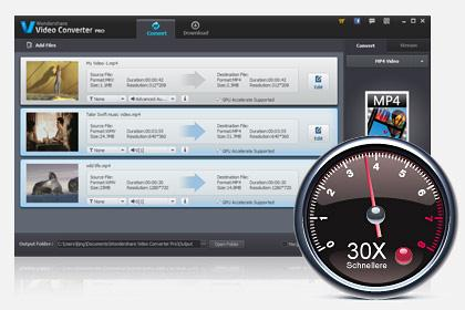 30X Faster Conversion Speed