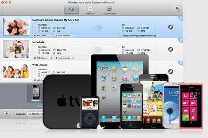 convert to different formats compatible with iphone