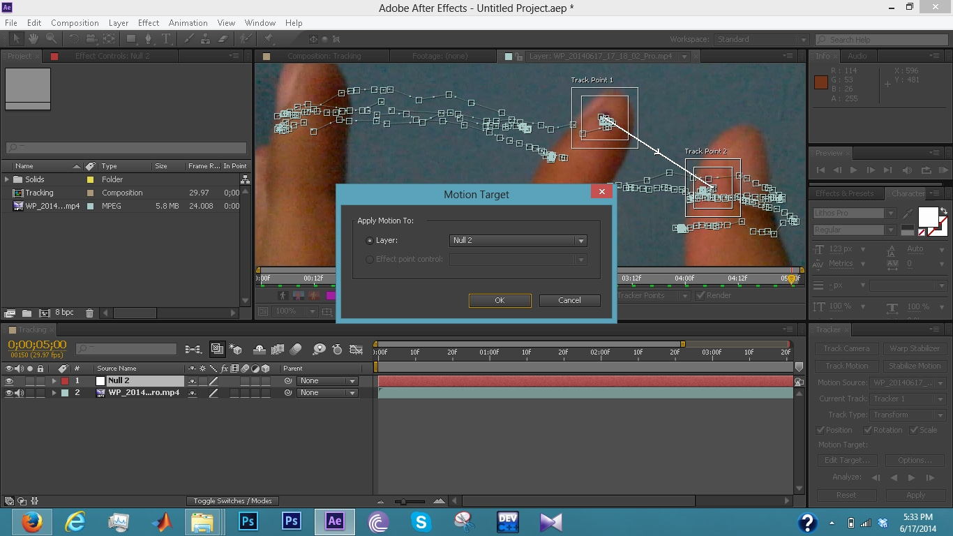 how to cut in adobe after effects