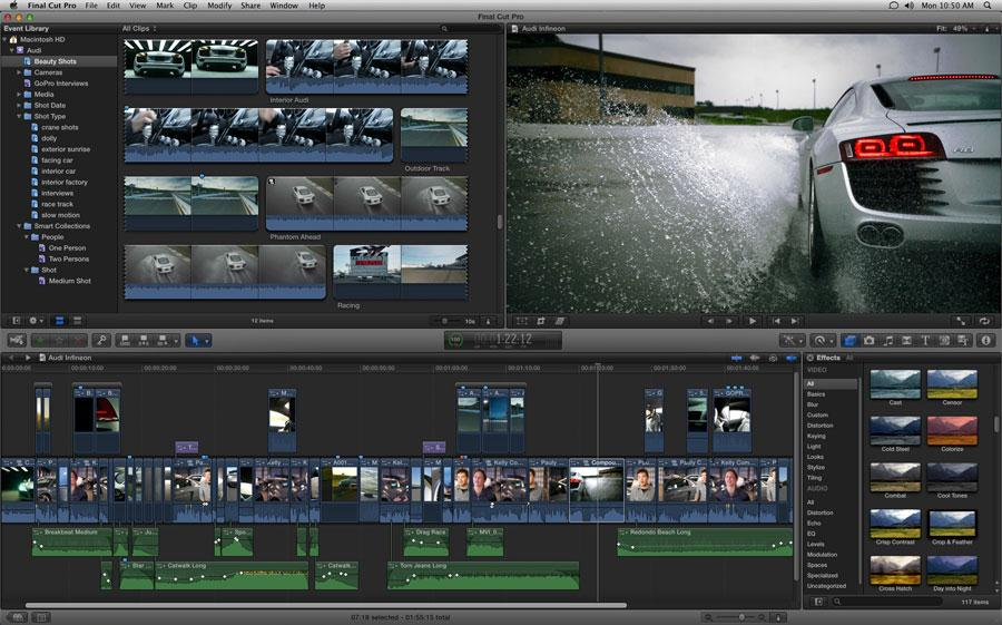 Final Cut Pro X - FULL TUTORIAL - YouTube