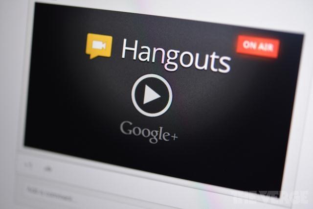 google plus live hangouts