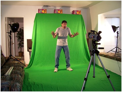 Camera tips in shooting a Green Screen Video