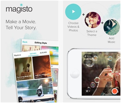 Magisto iPad Videobearbeitungsprogramm