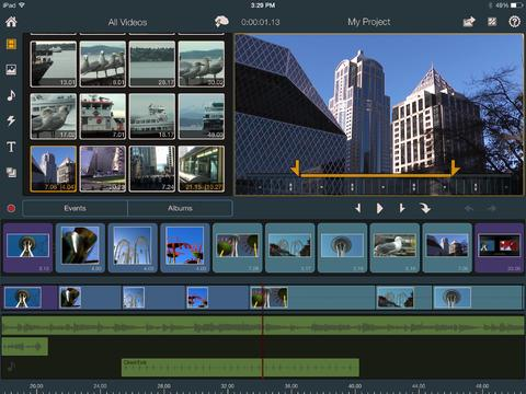 iPad Video bearbeiten mit dem Pinnacle Studio