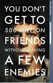 Movie made by FCP - the social network