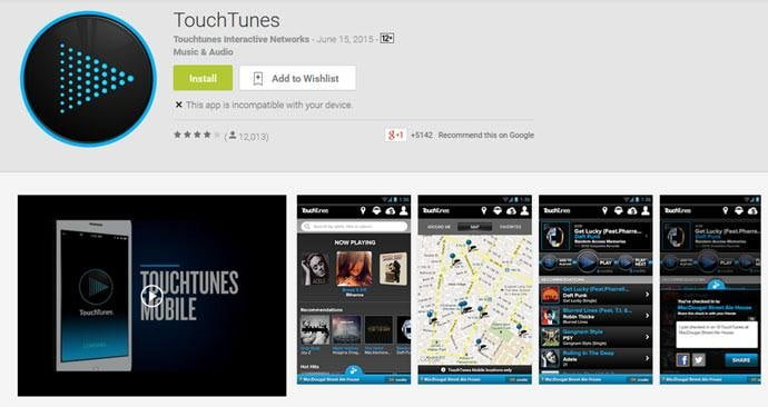 10 music radio Chine ee macruufka iyo Android