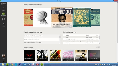 Spotify Client for windows mac linux iOS Android