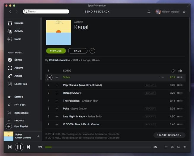 Spotify mac gratis download